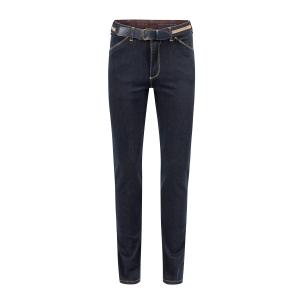 Herenpantalon Jeans Donker Tabac Bies
