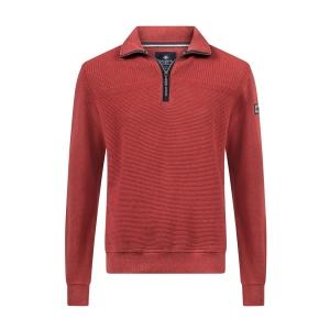Sweater Steenrood Structuur