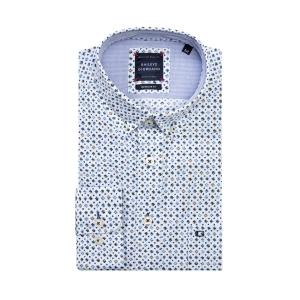 Overhemd Marine Blue Sterretje
