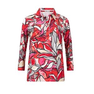 Poloshirt Rood Tinten