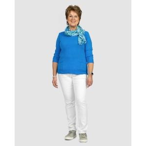 Sjaal Groen-Blauw Streep