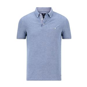Poloshirt Blauw Melee