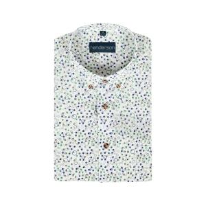 Overhemd Jeans Groen Cirkeltje KM