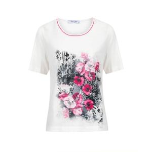Shirt Wolwit Fuchsia Klaproos