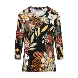 Shirt Multicolor Zwart