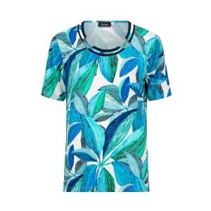 Shirt Emerald Kobalt Blad