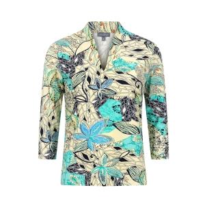 Shirt Zachtgeel Jade Marine Blad