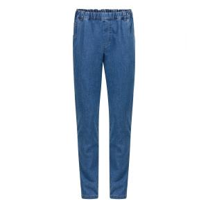 Herenpantalon Elastiek Jeans Zomer Blauw