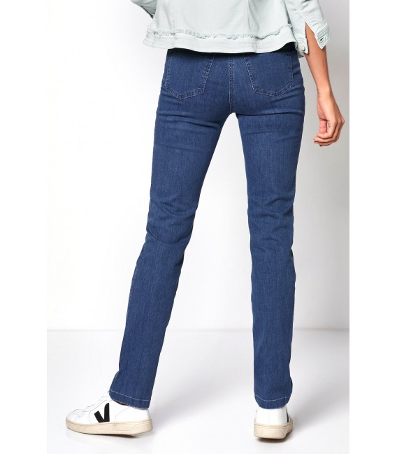 Damespantalon Jeans Light Blue 5 Pocket
