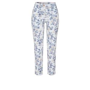 Damespantalon Jeans Wit Fancy 7/8