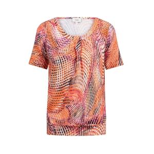Blouson Orange Roze Print