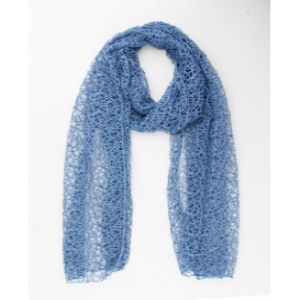 Sjaal Bleu Haakwerk