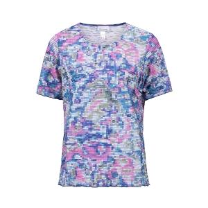 Shirt Roze Blue Printje