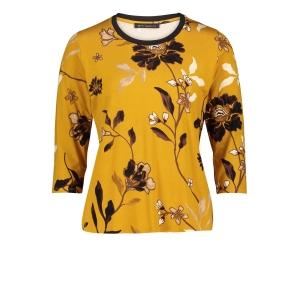 Shirt Kerrie Zwart Bloem