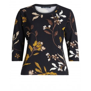 Shirt Zwart Kerrie Bloem