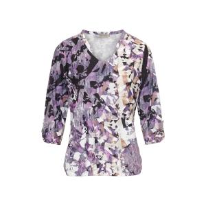 Blouson Blaze Purple Facet Print