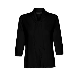 Shirt Zwart Strik