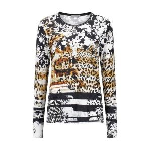 Shirt Zwart-Wit Caramel Bloem