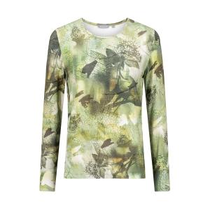 Shirt Groen Bladnerf