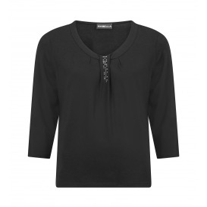 Shirt Zwart Studs