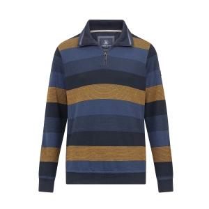 Polosweater Marine Kerrie Strepen