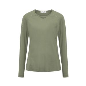 Shirt Olijf Studs